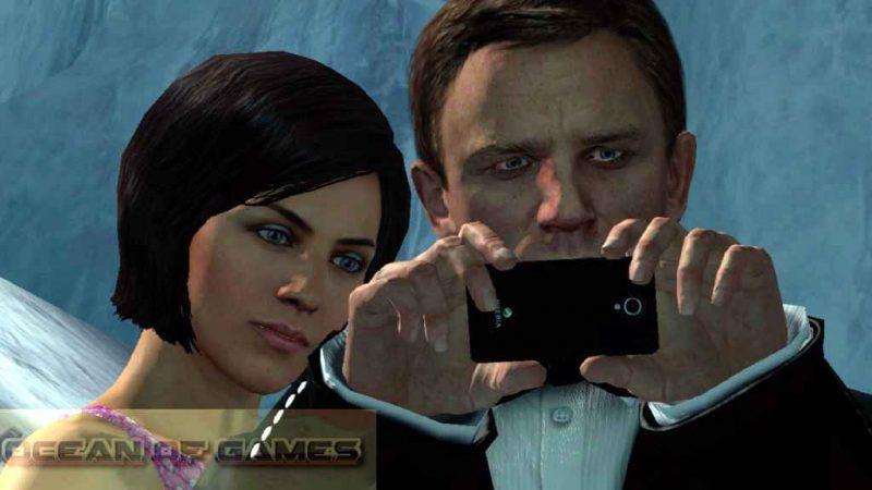 007 Legends Features