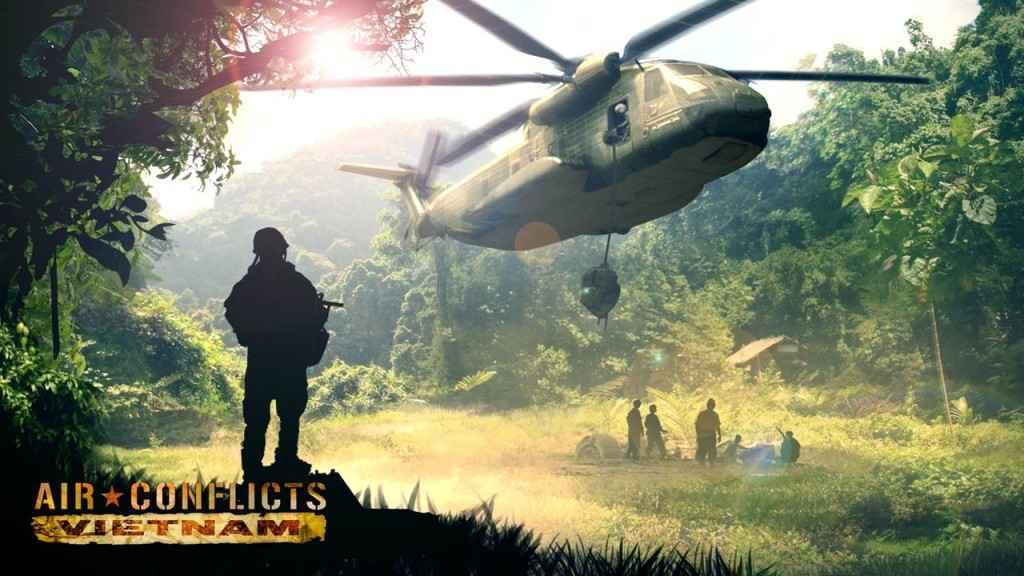 Air Conflicts Vietnam Wallpaper 1024x576