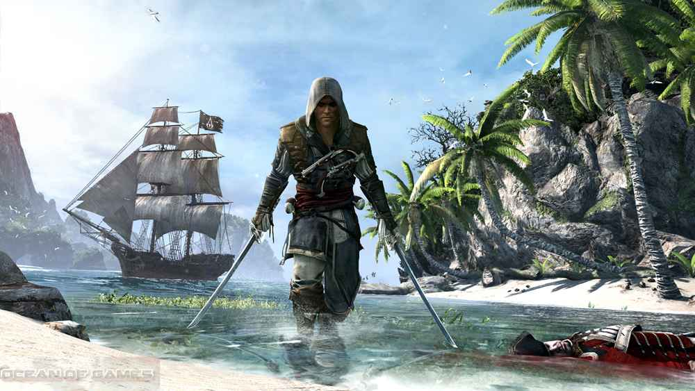 Assassins Creed IV Black Flag Setup Free Download