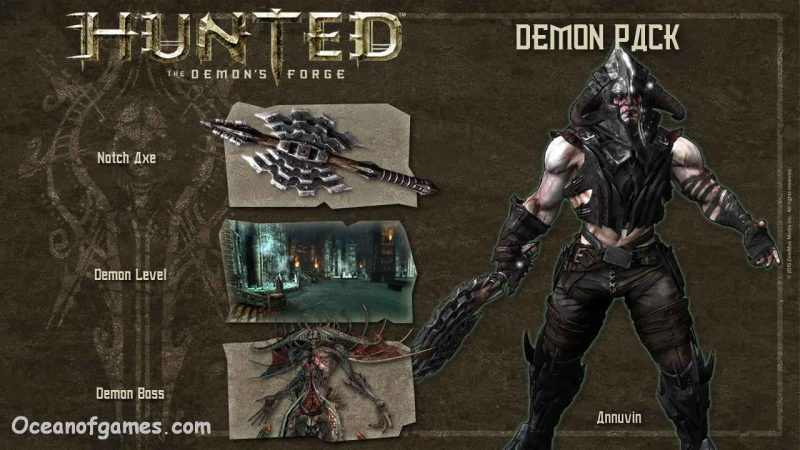 Hunted The demons Forge Free Download