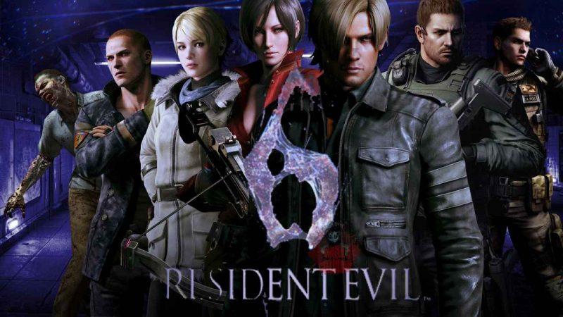 Resident Evil 6 logo 1
