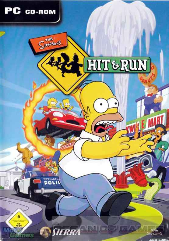 the simpsons hit and run free download