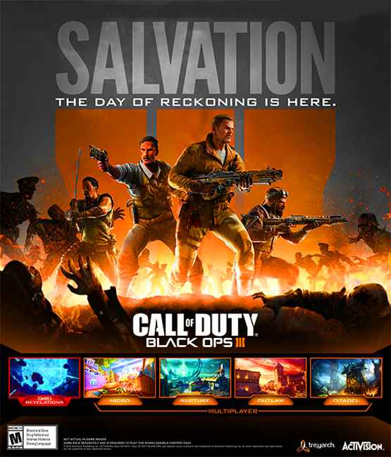 Call of Duty Black Ops III Salvation Free Download