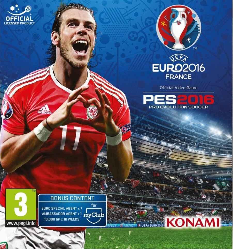 Pro Evolution Soccer UEFA Euro 2016 France Free Download